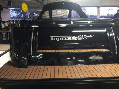 Topcraft 605 teaklook zwemplateau