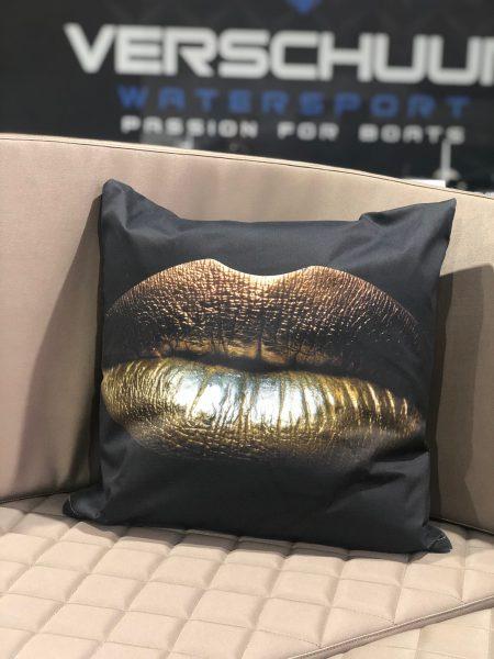 Kussen golden lips Verschuur Watersport